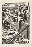 FOISO FOIS (Iglesias 1916 - Cagliari 1984)  Slaughter 1954  Woodcut print, ex. not stated