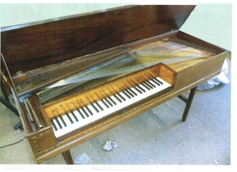 Lot 59 - Bland & Weller square piano
