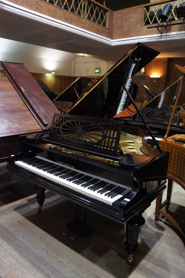 Lot 6 - Bechstein   A 6ft Model A grand piano in an ebonised case on turned legs.