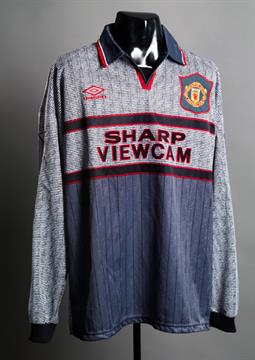 super popular 5078c fbf76 An 'invisible grey' Manchester United No.14 away jersey ...
