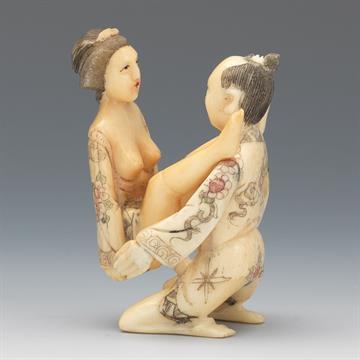 Japanese erotic figurines