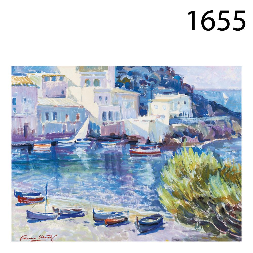 Ramon Marti Cebollero Sea Lanscape Watercolor On Paper Ramon Mart  # Muebles Cebollero