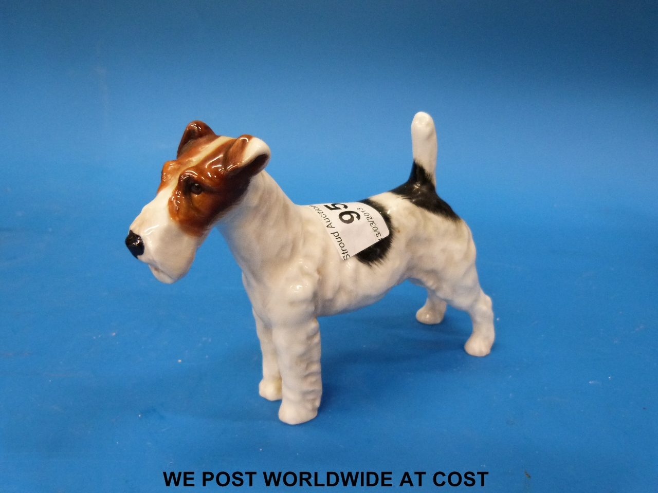 A Royal Doulton English wire-haired fox terrier (HN1014)
