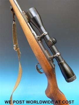 BRNO model 2  22 rifle with Apollo scope, 2 magazines and