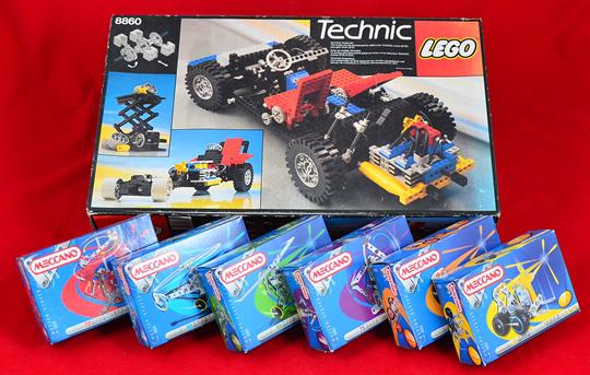 Lego Technic 8860 Set With Instructions Boxed Together With 6 X