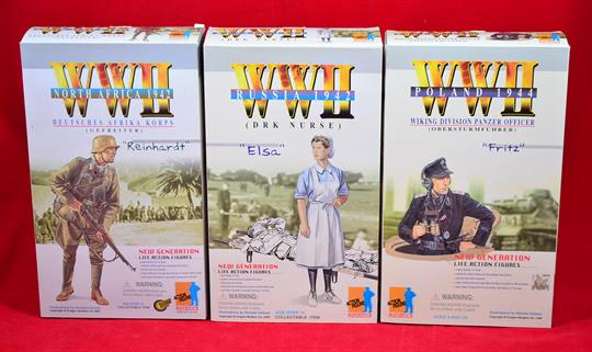Three Dragon 1 6 Scale Wwii Action Figures 70039 Russia 1942 Drk