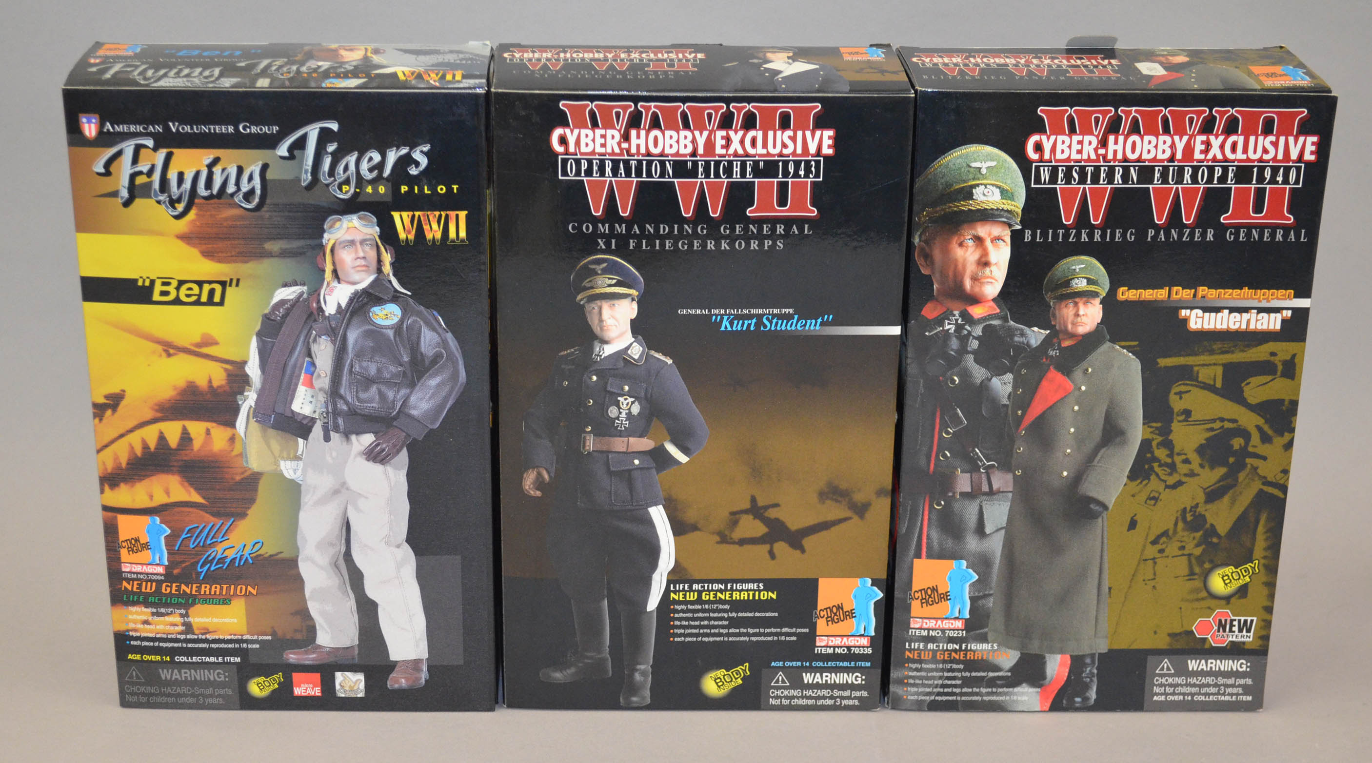 Three Dragon 1 6 Scale Wwii Action Figures 70335 Cyber Hobby