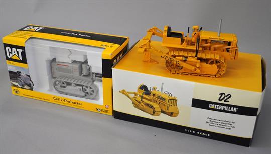 SpecCast Caterpillar D2 Track-Type Tractor, Antique