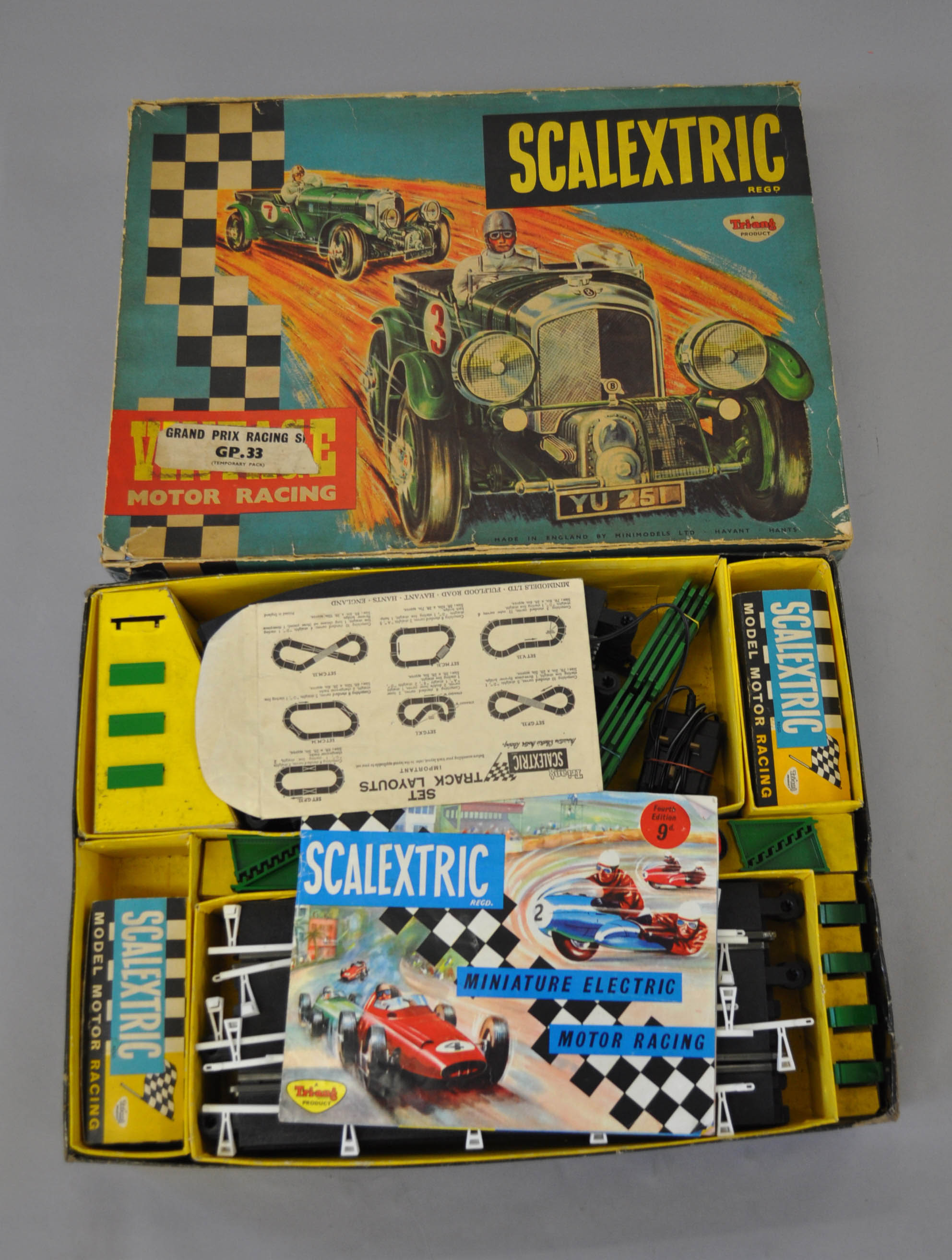 race sets scaletric vintage car