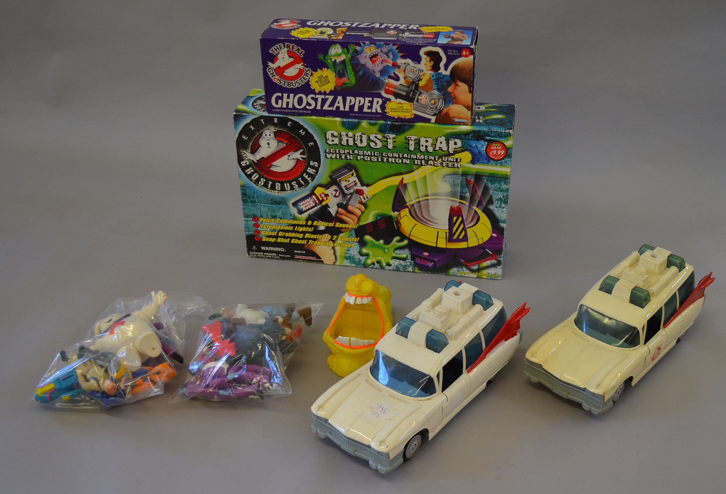 Quantity of Ghostbusters toys boxed Kenner Ghostzapper two unboxed
