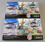 Two Airfix VE Day 60th Anniversary 1945-2005 plastic model kits. Both boxed and sealed.