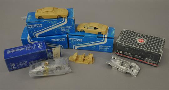 Starter 1 43 Scale Resin Model Ford Rs200 Road Car Review