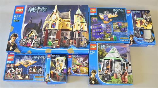 LEGO Harry Potter Sirius Blacks Escape