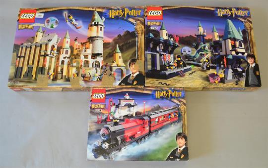 Lego Harry Potter 4709 Hogwarts Castle 4730 Chamber Of Secrets