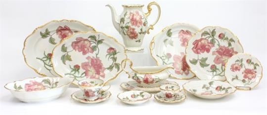 Auction date & Rosenthal Dinnerware Service set Rosenthal Selb-Germany pompadour ...