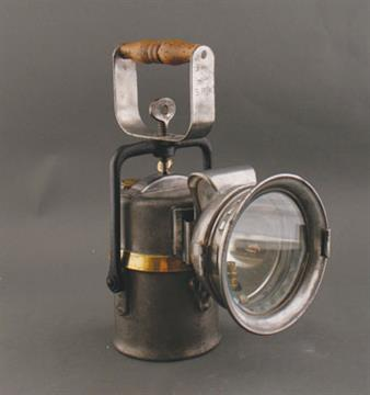 British Rail Western Division Carbide Lamp Made By Castella, Leeds Circa  1920