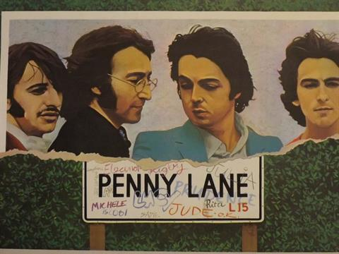 Image result for the beatles penny lane images