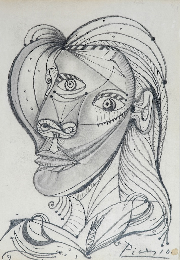 Lot 796 pablo picasso spanish french 1881 1973 a pencil drawing