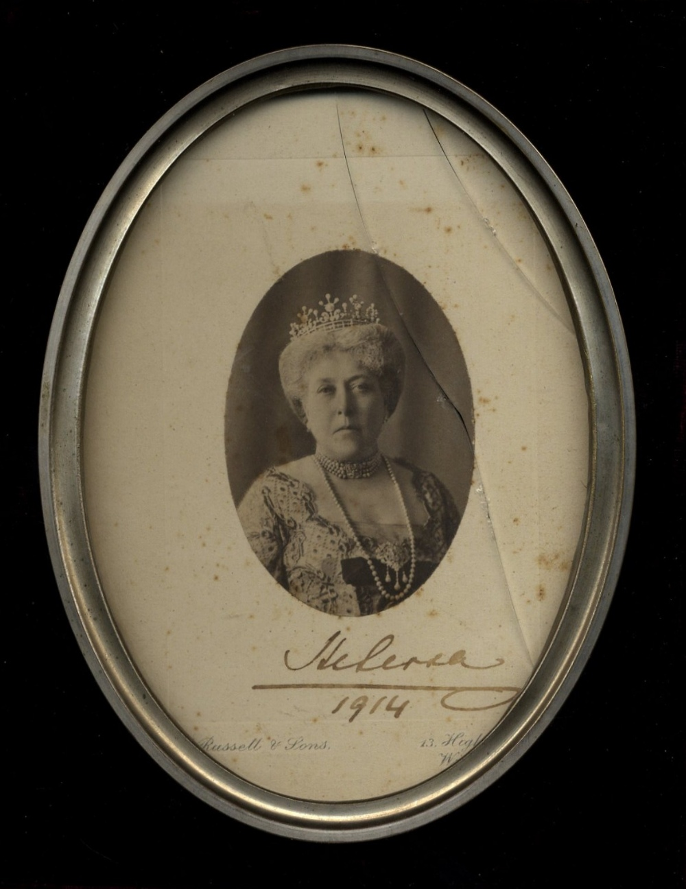 Lot 765 - PRINCESS HELENA: (1846-1923) Third daughter and fifth child of Queen Victoria and Prince Albert.