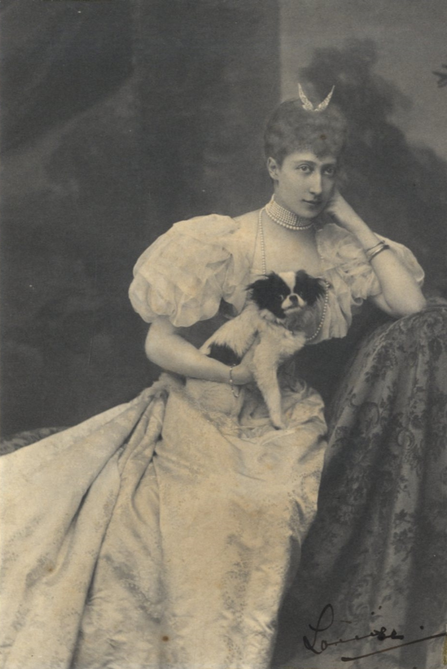 Lot 93 - LOUISE, PRINCESS ROYAL: (1867-1931) Duchess of Fife, Daughter of King Edward VII and Queen
