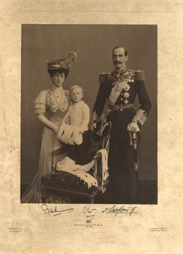 HAAKON VII 1872 1957 King Of Norway 1905 57 Amp MAUD OF WALES