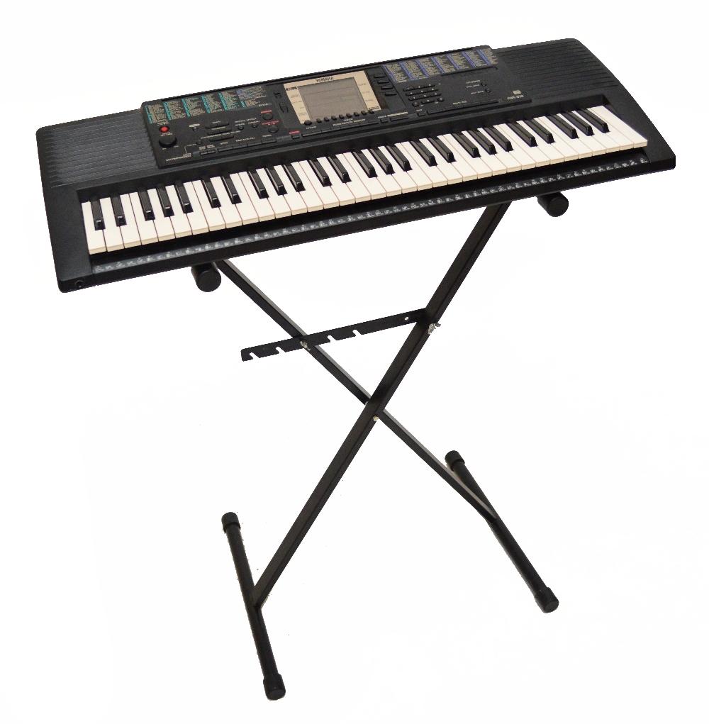 A yamaha psr 330 keyboard on stand for Yamaha psr stand
