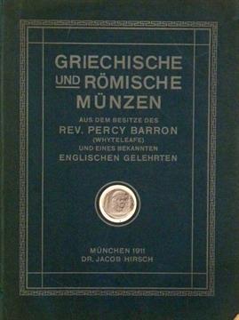 Hirsch Jacob Griechische Und Römische Münzen Aus Dem Besitze Des