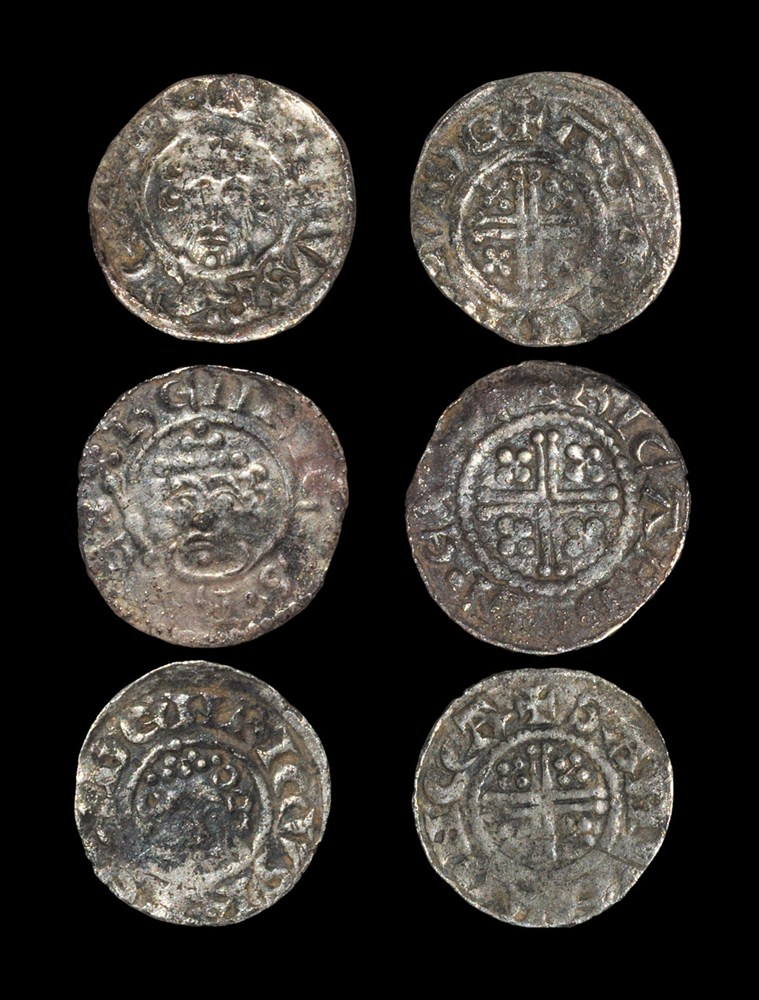 English Medieval Henry II, John and Henry III - Short Cross Penny Group [3] 1180-1222 AD, classes
