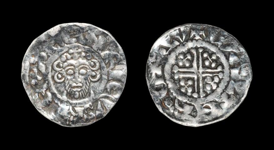 English Medieval John - London / Walter - Short Cross Penny 1204-1209 AD, class 5c. Obv: facing