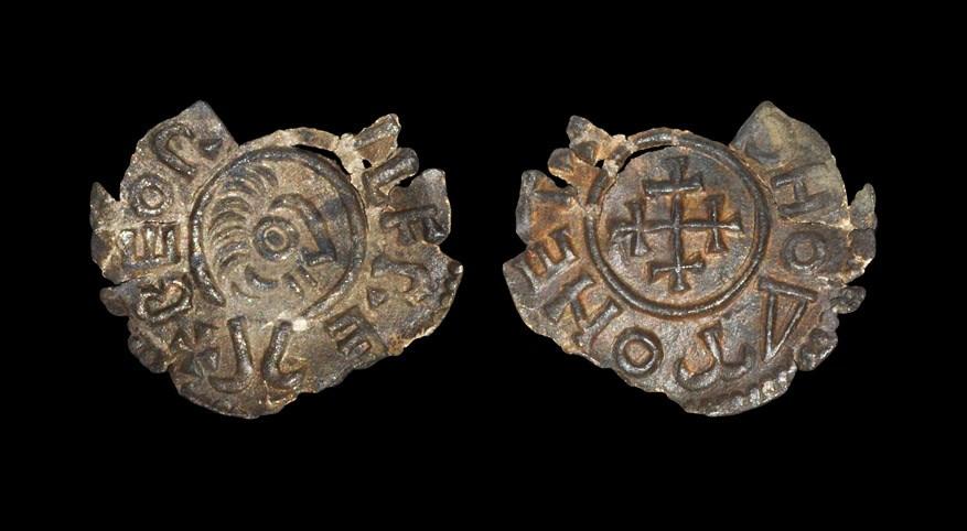 Anglo-Saxon Beornwulf - Portrait Penny 823-825 AD, type II, BMC type 114. Obv: stylised profile