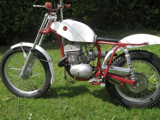 1965 Dot 250cc Trials Reg  no  N/A Frame no  t b a  Engine no
