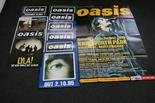 "Lot 292 - OASIS POSTER COLLECTION - impressive collection of 10 original promo posters (all 20""x30"" unless"