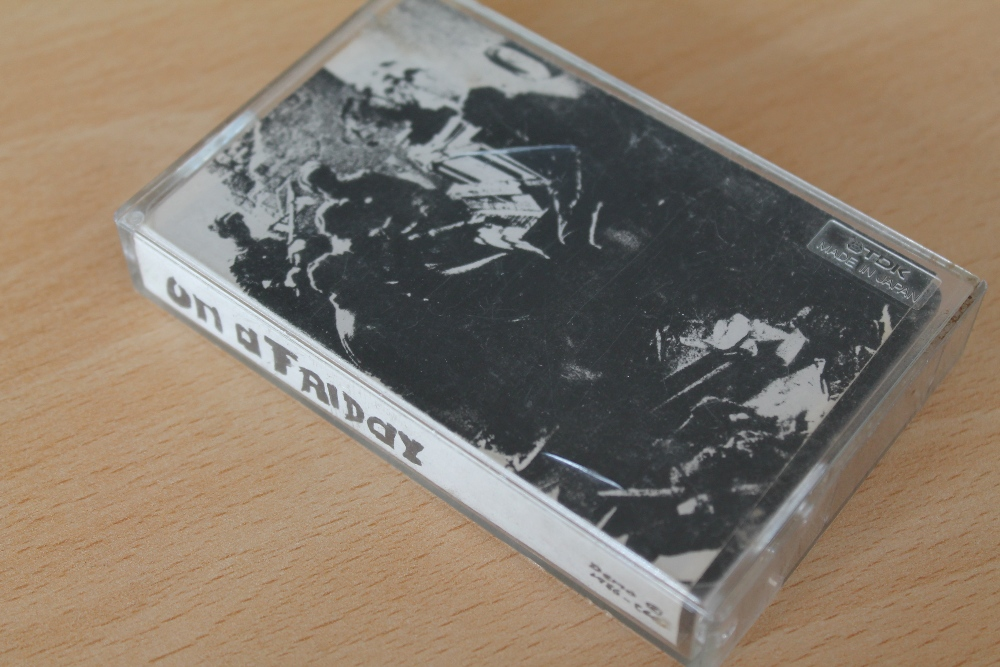 Lot 564 - RADIOHEAD - On a Friday - (Demo 1986 OAF) Cassette Rare and Unreleased. A holy grail for Radiohead
