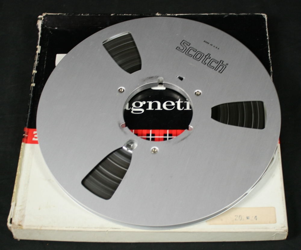 Lot 316 - DEEP PURPLE/ ZEPPLIN/ HENDRIX - studio reel to reel recording (mono full track) of John Peel`s ``