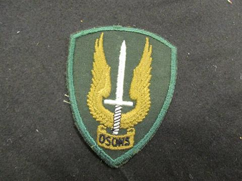 Scarce ORIGINAL Canadian Special Forces `OSENS` WW2 badge