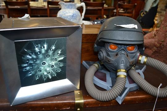 A Limited Edition Killzone 3 18 Helghast Edition Playstation 3 Mask And Helmet Along With A H