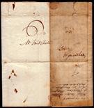 Norfolk Postal History - 1811 EL  Diss/Wymondham Willcocks NK103 XXX in Black Rated C