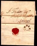 Norfolk Postal History - 1831 EL  Holt/Norwich Willcocks 211 XXXX 21mm in Black Rated B.