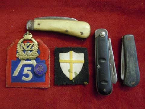 WWII Militaria-American Fifth army and Exiled Polish army