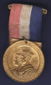 coronation medal king george vi and queen elizabeth coronation 12th may 1937 in original box coronation medal king george vi and