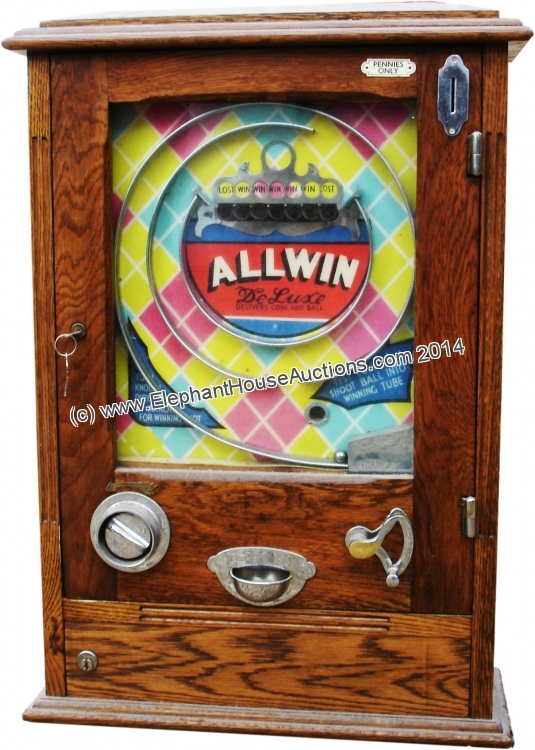 Coin operated slots for sale