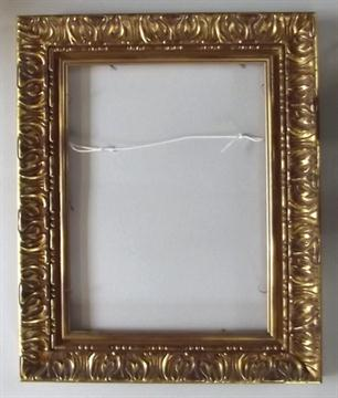 picture frame a moulded gilt picture frame internal dimensions 55 x 39 cm