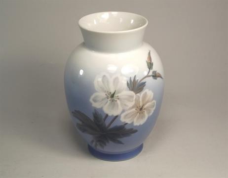 Royal Copenhagen A Royal Copenhagen Porcelain Vase No2667 Height