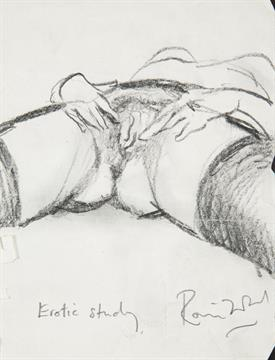 Erotic figure drawing