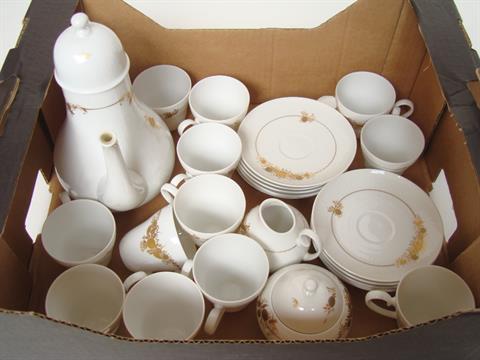 A Rosenthal Studio Line Romanze Pattern Twelve Setting Coffee