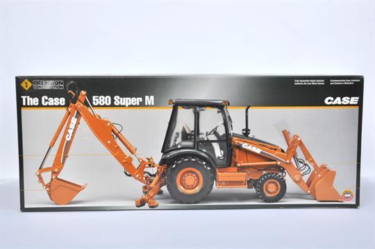 Obsolete Ertl 1/16 Scale Precision Series Case 580 Super M