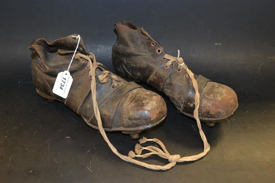 8d5b0d181 A pair of vintage football boots