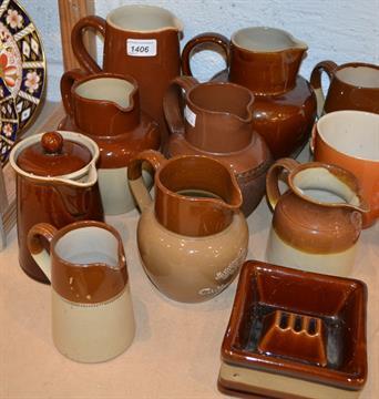 Denby stoneware jug dating