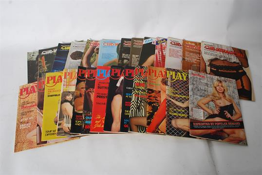 Adult magazines collection