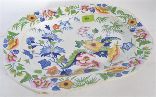 Dresden porcelain NT Blue and white ware Ceramic tableware Childrens china.